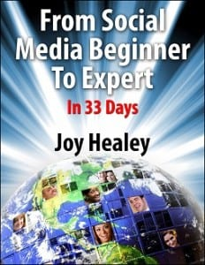 From Social Media Beginner To Expert In 33 Days by Joy Healey