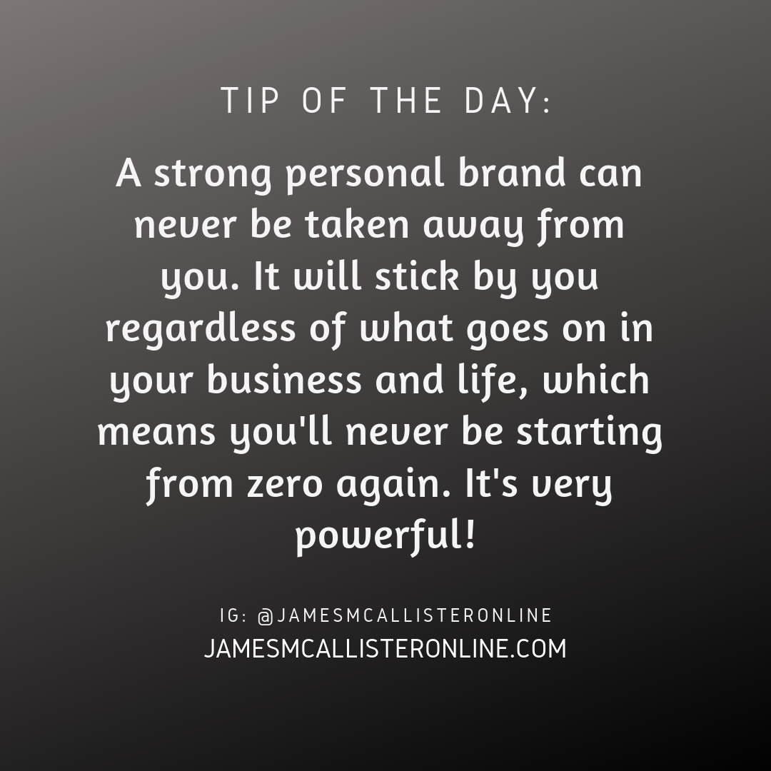 A Strong Personal Brand Is The Ultimate Safety Net - Here's