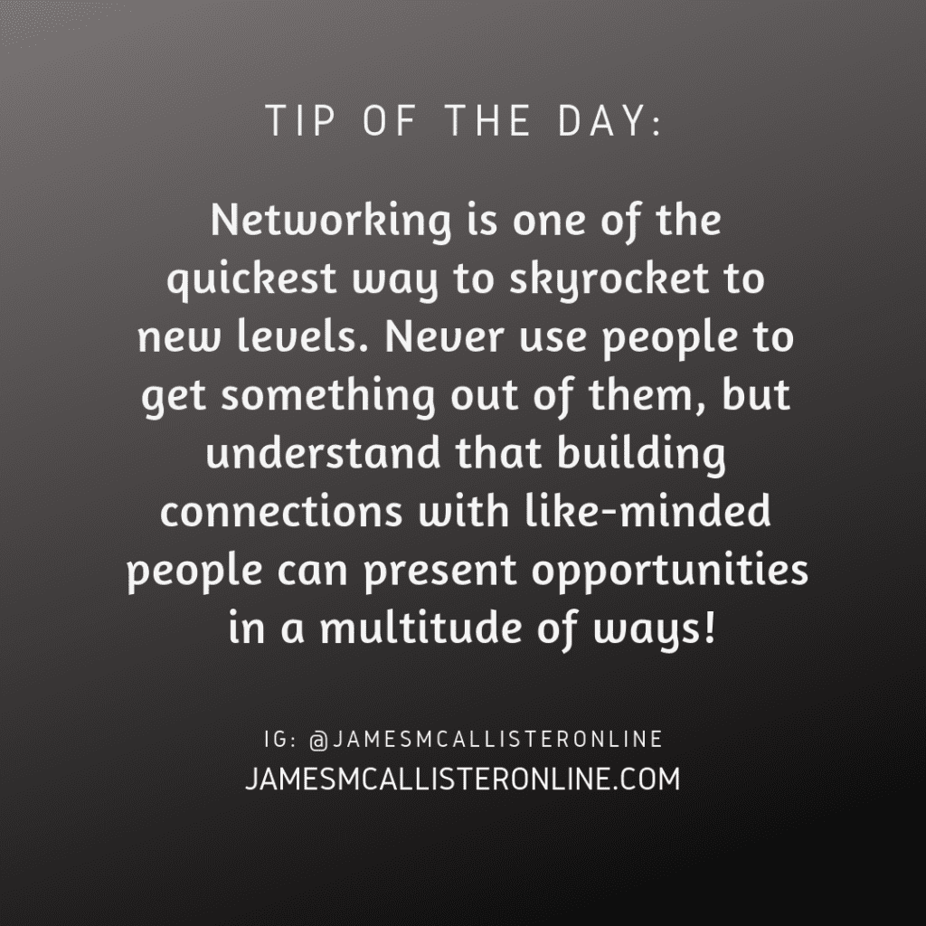Networking Is One Of The Quickest Ways To Skyrocket To New Levels